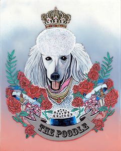 The Poodle - Evan Schwartz Art