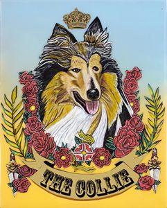 The Collie - Evan Schwartz Art