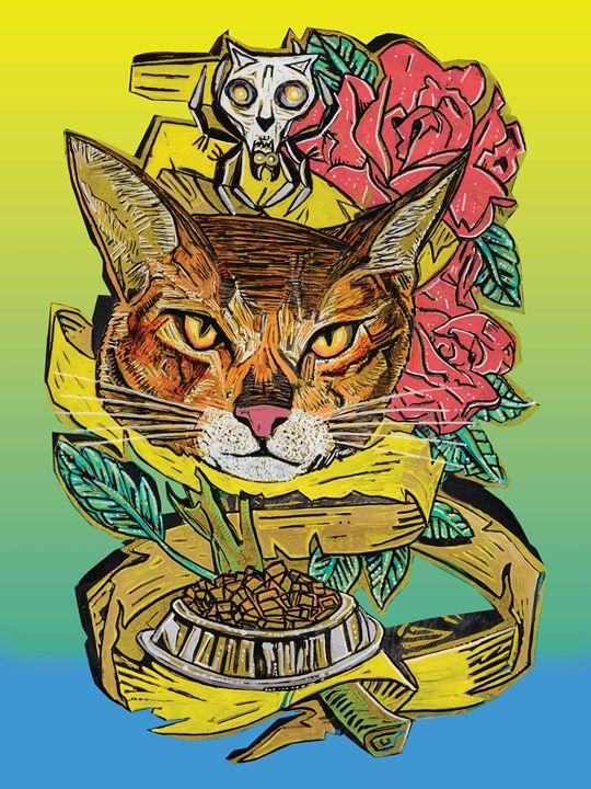 Cat-Too - Evan Schwartz Art