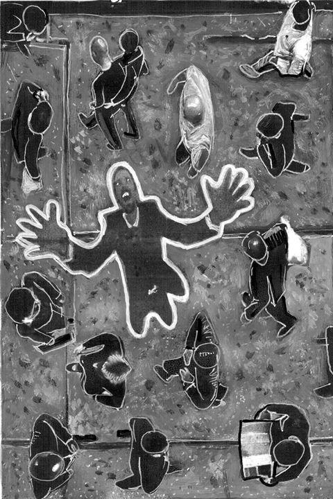 Invisible - Evan Schwartz Art