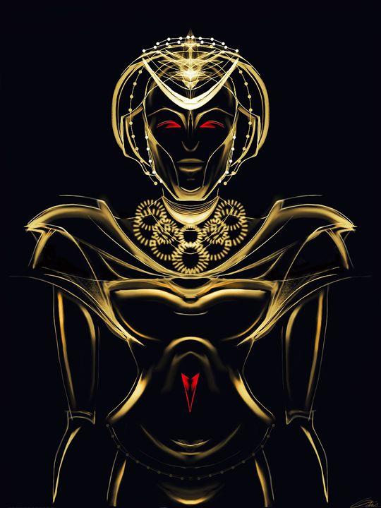 Hilux Series - Gold Female 2 - LeFleur Modern Compositions