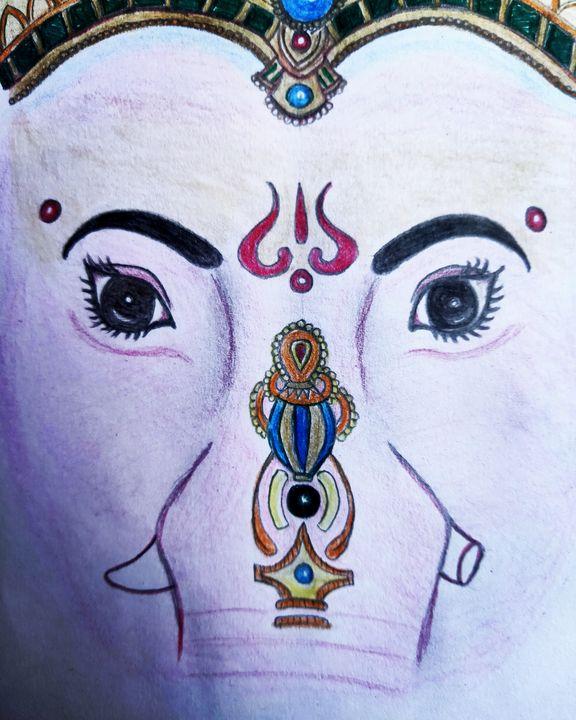 Lord ganesha - My creation