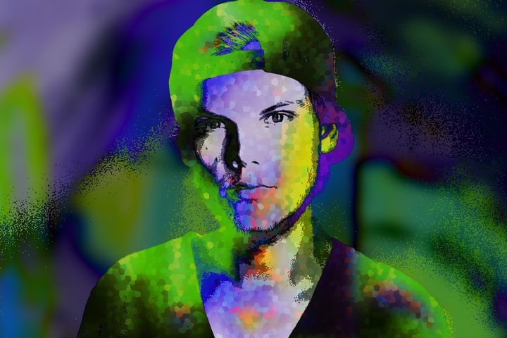 Avicii Tim Bergling Abstract - Art By Dominic