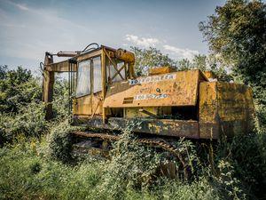 Abandoned Excavator