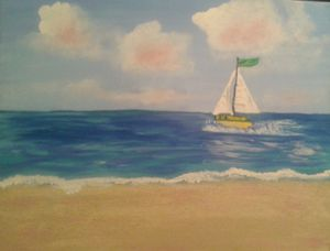 Spunky Sailboat
