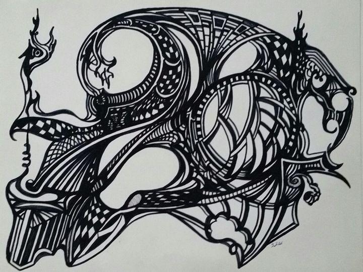Waveskull - thomasdemille