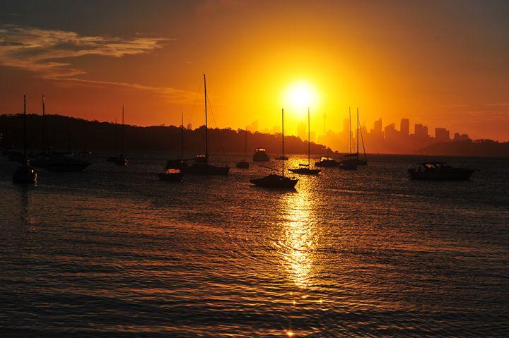 Watsons Bay sunset - Yi