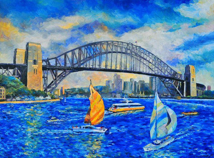 Sydney Harbour Bridge - Yi