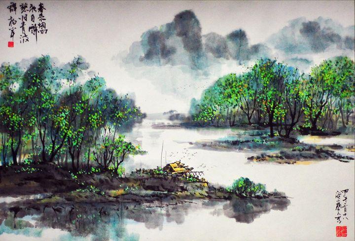 Spring in Jiangnan - Yi