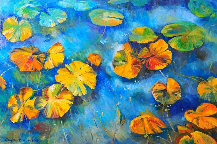 Queensland Water liles - Yi
