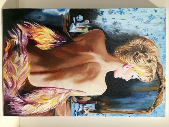 oil painting - Achira