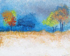 Stormy field - Marjie'S Inspired