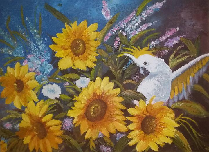 Sunshine Cockatoo - Sue-Ellen