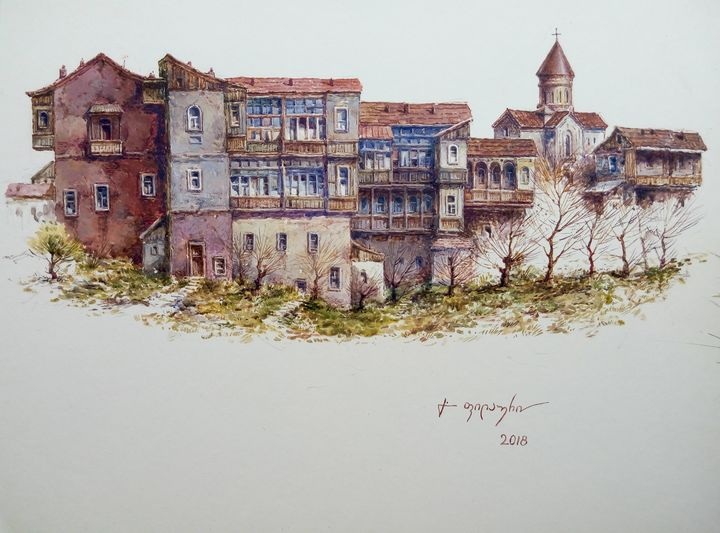Old Tbilisi - Metekhi - Gela Philauri
