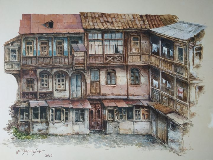 Old House in Tbilisi - Gela Philauri