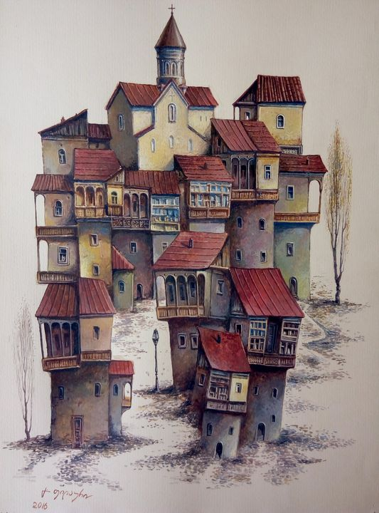 Tbilisi - variation - Gela Philauri