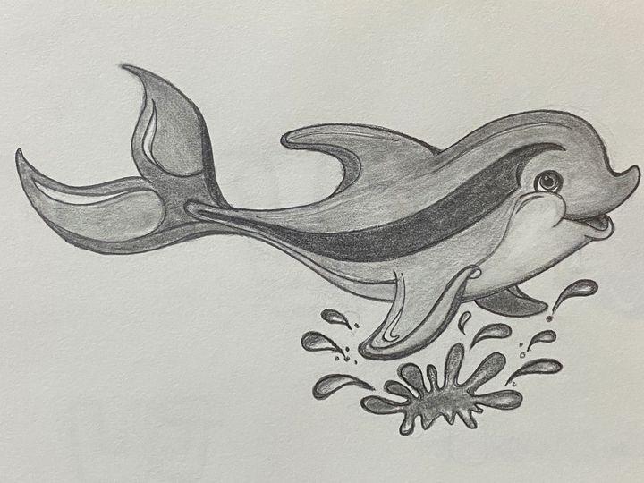Splashy Dolphin - Happy Creations
