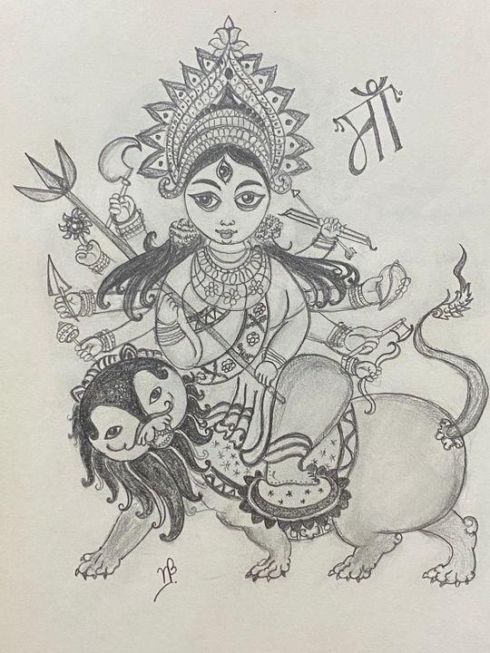 Goddess Durga - Happy Creations