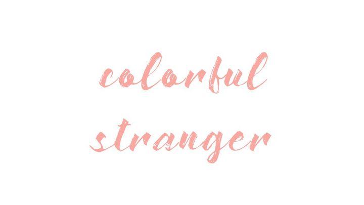 Colorful Stranger - Ambig