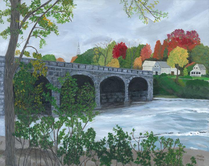 Five Span Bridge, Pakenham - Paintings by Sheila Murphy