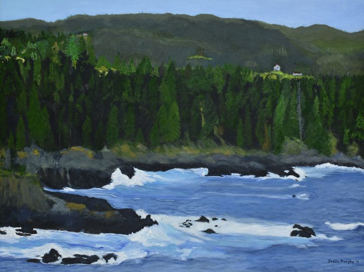 Conception Bay Newfoundland Paintings By Sheila Murphy