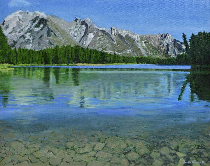 Alberta's Rockies - Paintings by Sheila Murphy