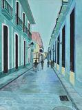 Quiet Moment on Havana Street