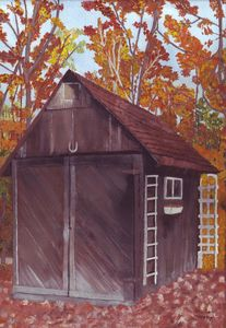 Old Shed in Autumn