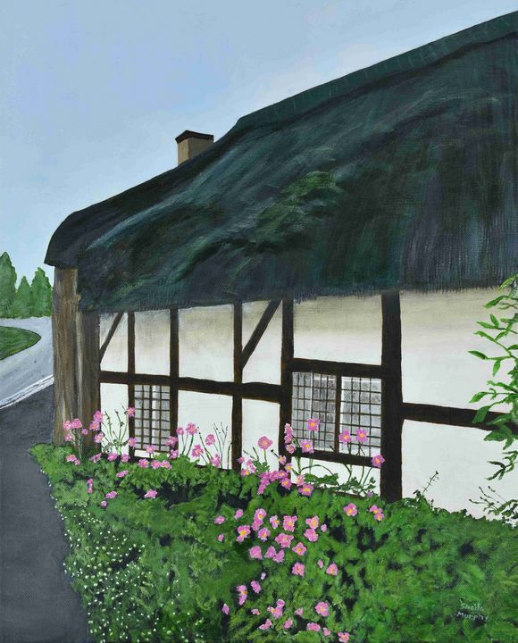 Blakeney Old English Cottage - Paintings by Sheila Murphy
