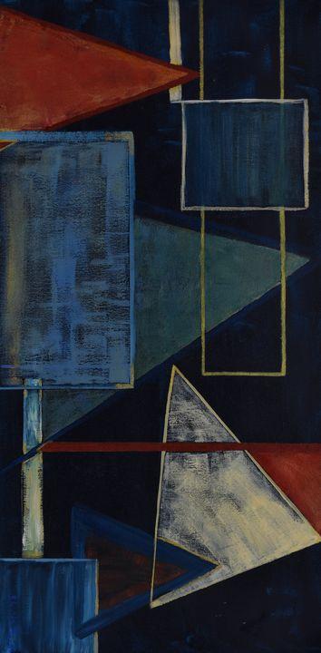 Geometric Matter - Paintings by Sheila Murphy