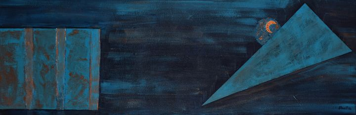 Midnight Blues - Paintings by Sheila Murphy