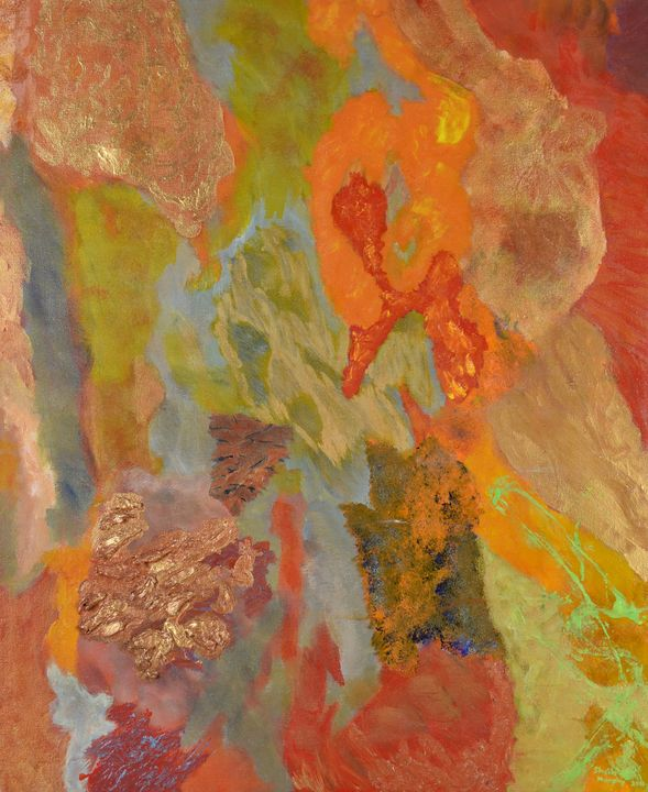 Liquid with Transformation No. 2. - Paintings by Sheila Murphy