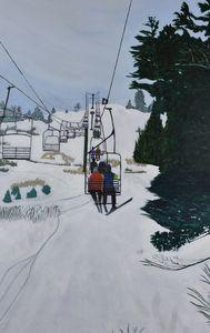 Chairlift, Mount Pakenham