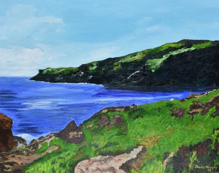Gros Morne Coast - Paintings by Sheila Murphy