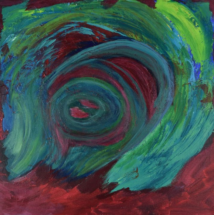A Storm Brewing - Paintings by Sheila Murphy