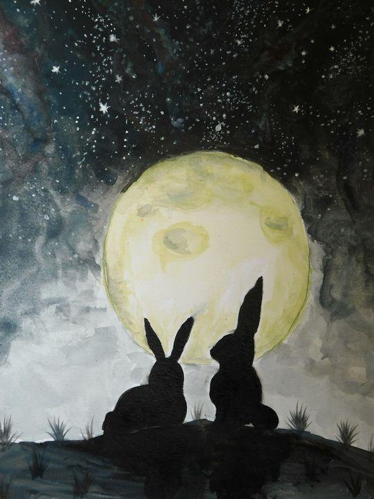 moonlit moments - brighter art