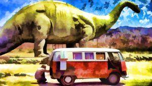 Two Dinosuars