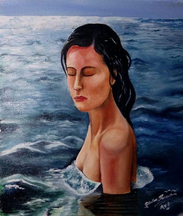 Water lady - Dibakar sutradhar