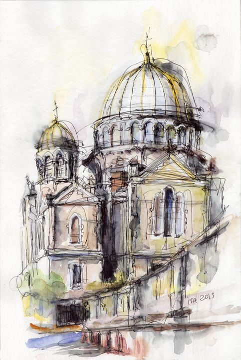 Russian Church of Biarritz - IvaArt