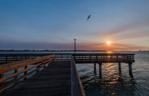Sunrise: Antioch Marina