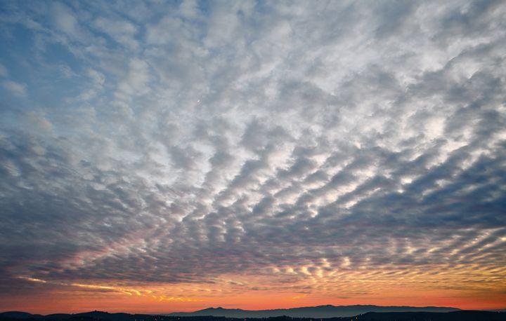 Cloudy Sunset - Raymond Enriquez