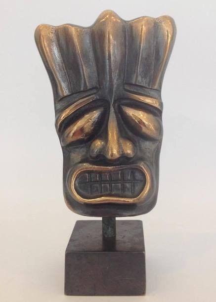 Mask - Bronze art
