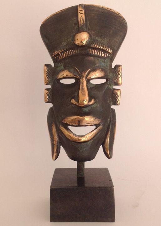 African mask - Bronze art