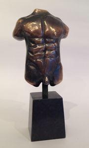 Torso in bronze