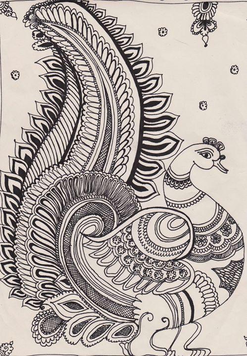 Kamalkari Peacock - Aalekh