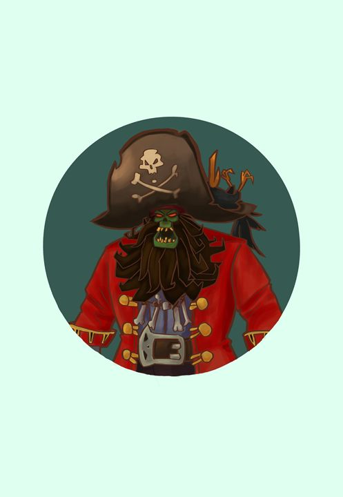 Pirate LeChuck - IniaArt