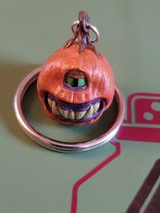 Pumpkin keychain