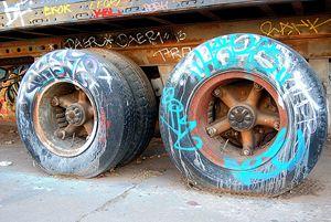 Flat Tires - SluPhoto Gallery