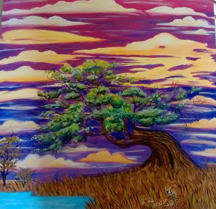 Peaceful Life - Takia's Art