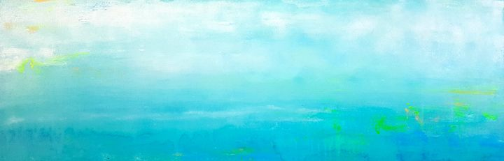 "Daydreams-SOLD - ""Wildspringartstudio"" Laura Spring"